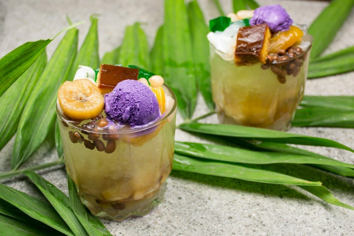 Halo Halo With Toppings Variation 1
