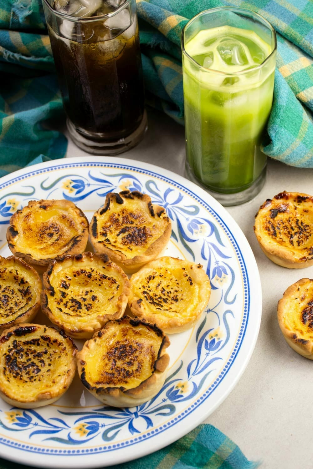 delicious custard egg tarts from the philippines