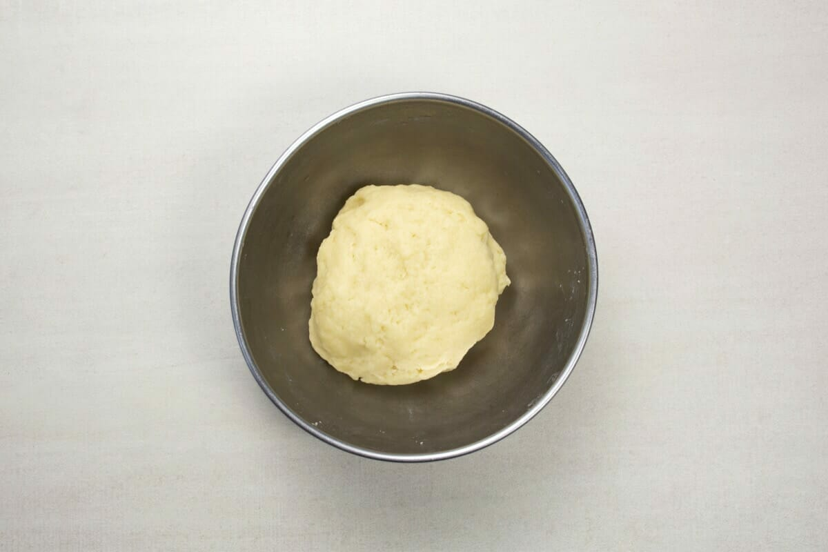 step 3 cold water in dough